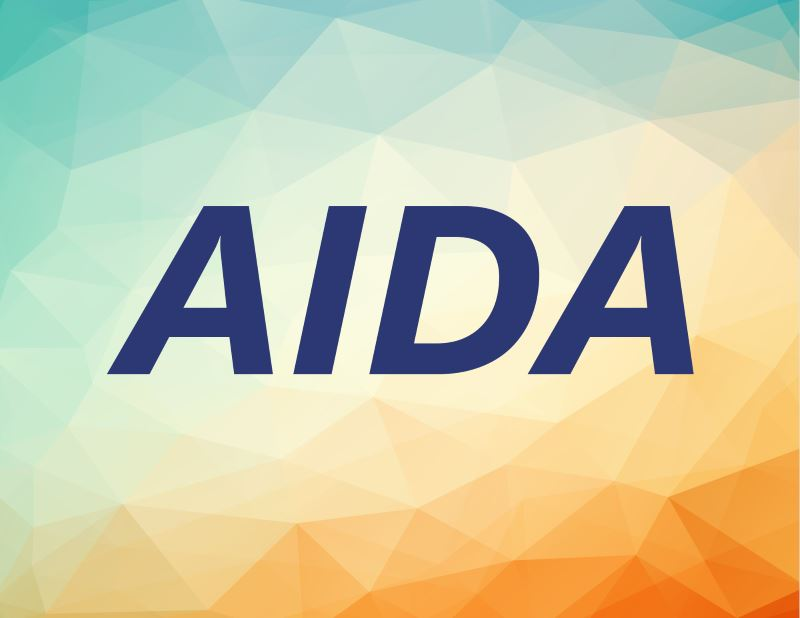 AIDA - Attention, Interest, Desire, Action